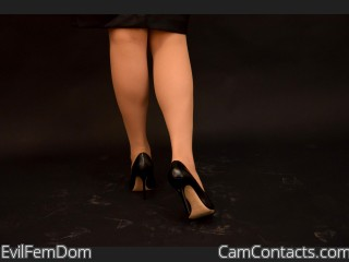 Webcam model EvilFemDom from CamContacts