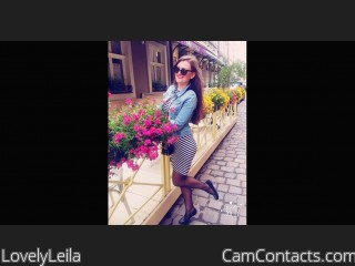 Webcam model LovelyLeila from CamContacts