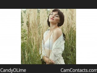 Webcam model CandyOLime from CamContacts