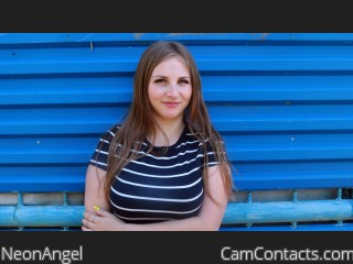 Webcam model NeonAngel from CamContacts