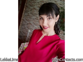 Webcam model LekkaLime from CamContacts