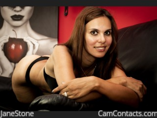 Webcam model JaneStone from CamContacts