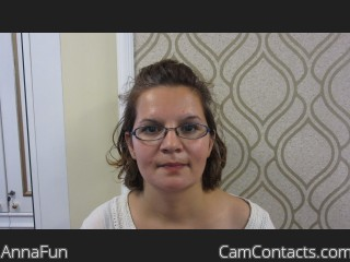 Webcam model AnnaFun from CamContacts
