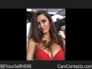 Webcam model BEYourSelfHERE from CamContacts