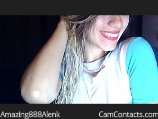 Webcam model Amazing888Alenk from CamContacts