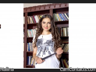 Webcam model Nallina from CamContacts