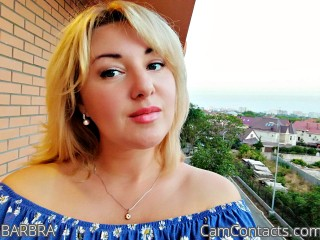 Webcam model BARBRA from CamContacts