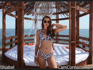 Webcam model 0Isabel from CamContacts