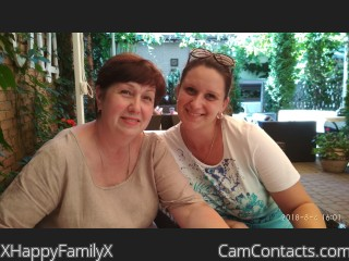 Webcam model XHappyFamilyX from CamContacts