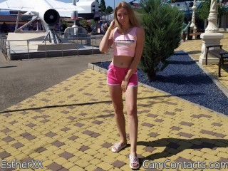 Webcam model EstherXX from CamContacts
