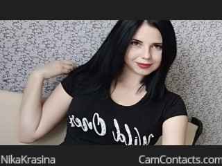 Webcam model NikaKrasina from CamContacts