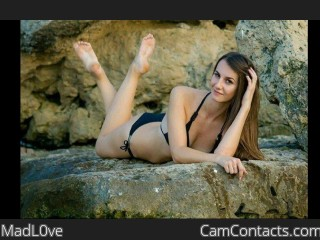 Webcam model MadL0ve from CamContacts