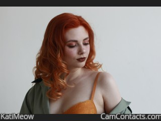 Webcam model KatiMeow from CamContacts