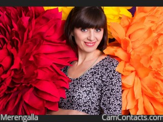 Webcam model Merengalla from CamContacts
