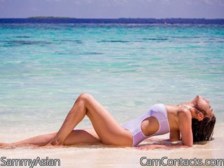 Webcam model SammyAsian from CamContacts