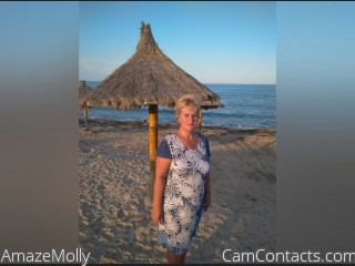 Webcam model AmazeMolly from CamContacts