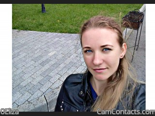 Webcam model 0Eliza from CamContacts