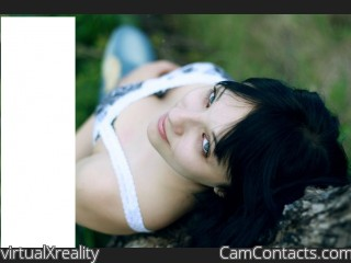 Webcam model virtualXreality from CamContacts