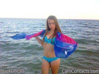 Webcam model BlackOhOld from CamContacts