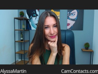 Webcam model AlyssaMartin from CamContacts
