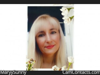 Webcam model MaryySunny from CamContacts