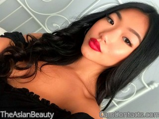 Webcam model TheAsianBeauty from CamContacts