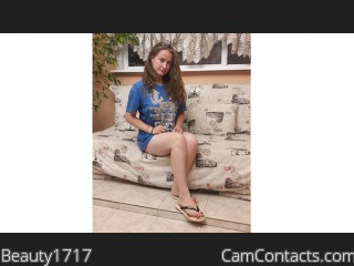 Webcam model Beauty1717 from CamContacts