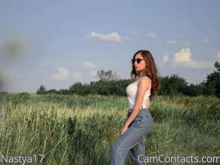 Webcam model Nastya17 from CamContacts
