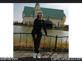 Webcam model MariahAm from CamContacts