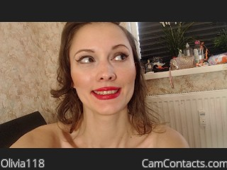 Webcam model Olivia118 from CamContacts