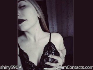 Webcam model shiny6969 from CamContacts