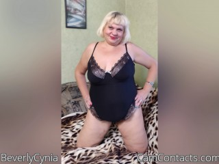 Webcam model BeverlyCynia from CamContacts