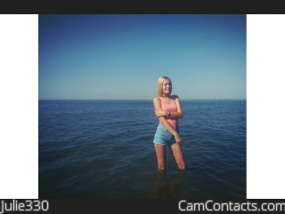 Webcam model Julie330 from CamContacts