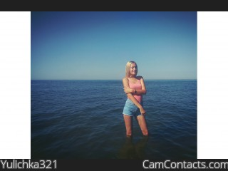 Webcam model Yulichka321 from CamContacts