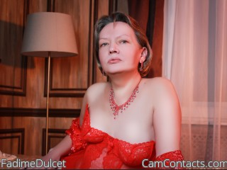 Webcam model FadimeDulcet from CamContacts