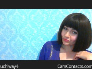 Webcam model uchiway4 from CamContacts