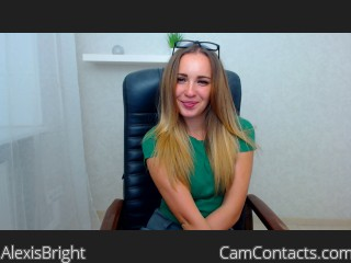 Start VIDEO CHAT with AlexisBright