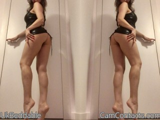 Webcam model UkBeddable from CamContacts