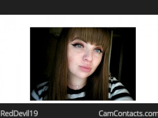 Webcam model RedDevil19 from CamContacts