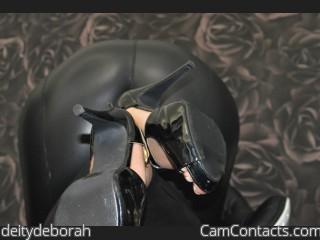 Webcam model deitydeborah from CamContacts