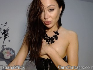 Webcam model TatianaWildX from CamContacts