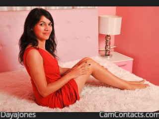Webcam model DayaJones from CamContacts