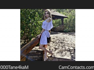 Webcam model 000Tane4kaM from CamContacts