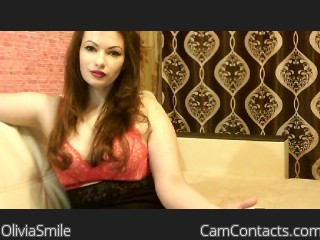 Webcam model OliviaSmile from CamContacts
