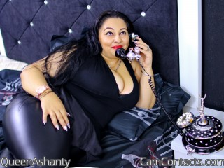 Webcam model QueenAshanty from CamContacts