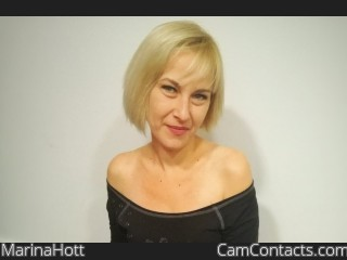 Webcam model MarinaHott from CamContacts