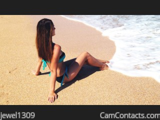 Webcam model jewel1309 from CamContacts