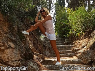 Webcam model TopSportyGirl from CamContacts