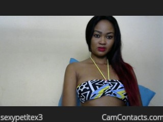 Webcam model sexypetitex3 from CamContacts