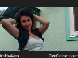 Webcam model IrishkaKaya from CamContacts